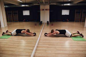andrychow, trening, plaski brzuch, cwiczenia